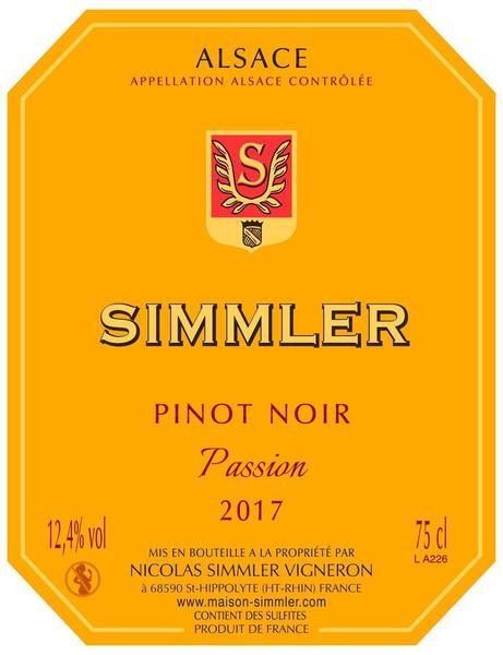 "Pinot Noir 2017 ""Passion"""