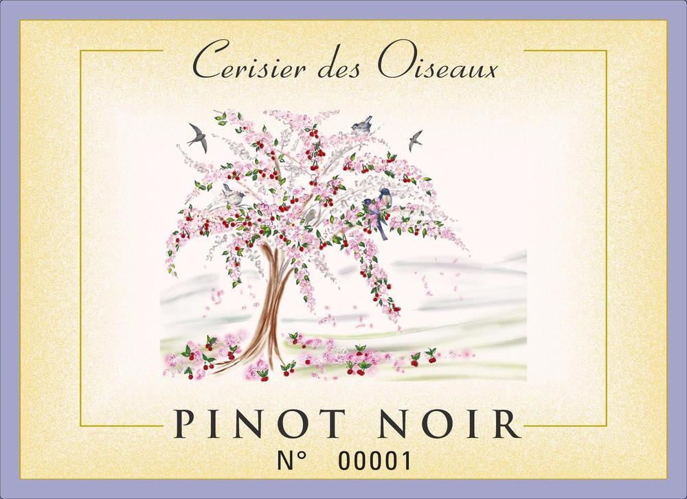 """Pinot Noir 2019 """"Cerisier des Oiseaux"""""""